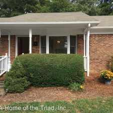 Rental info for 14 Brandy Drive in the Greensboro area