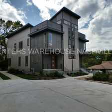 Rental info for Brand New 3-story Home w/ Rooftop Deck in EAST NASHVILLE!!! in the Nashville-Davidson area
