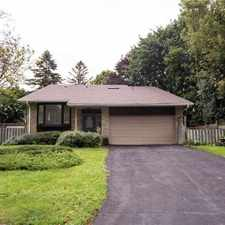 Rental info for 22 Glenview Drive in the Aurora area