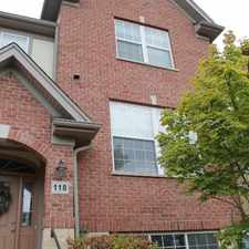 Rental info for 118 Enclave Dr #TH in the Des Plaines area