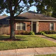 Rental info for 5255 Congress Blvd #40 in the Baton Rouge area