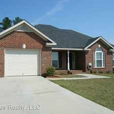 Rental info for 3825 Oxford Drive in the 30906 area