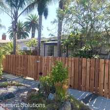 Rental info for 3731 Meade Avenue in the Normal Heights area