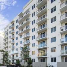 Rental info for SOMA at Brickell in the Miami area