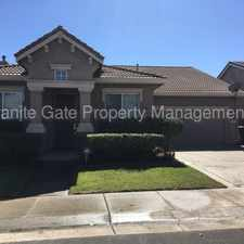 Rental info for Charming Natomas Home in the Gateway West area