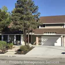 Rental info for 830 El Capitan Drive in the 94526 area