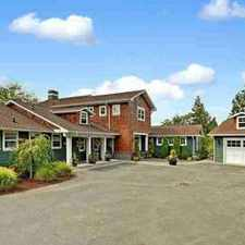 Rental info for 13622 SE 5th St Bellevue Five BR, Brand new price!Luxury home in