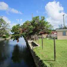 Rental info for Waterfront Home for Sale in the Westwood Lakes Area in Miami 33165