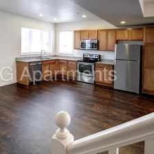 Rental info for 3 BR Town Home with Garage, Pet Friendly! in the City Center area