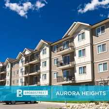 Rental info for Aurora Heights in the Winnipeg area