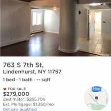 Rental info for One Bedroom In Suffolk South Shore in the 11704 area