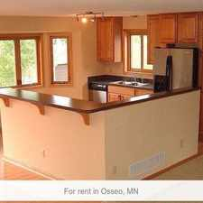 Rental info for 4 Bedrooms House In Osseo in the Maple Grove area