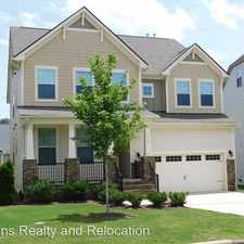 Rental info for 7117 Hinman Lane in the Fuquay-Varina area