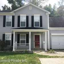 Rental info for 7309 William Reynolds Drive in the Hickory Grove area