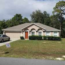 Rental info for 11271 Topaz St in the Spring Hill area