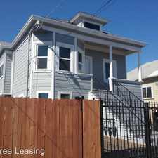 Rental info for 1421 45th Avenue in the Oakland area