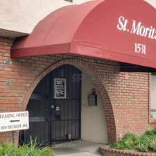 Rental info for St. Moritz II in the Concord area