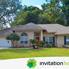 Rental info for Your Dream Home Awaits! in the Julington Creek area