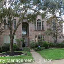 Rental info for 2118 Bluffton Ln in the Cinco Ranch area