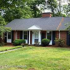 Rental info for 705 Dover Rd in the Greensboro area