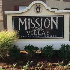 Rental info for Mission Villas Apartments in the Lubbock area