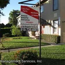 Rental info for 6859-6865 Fulton Ave. in the North Hollywood West area
