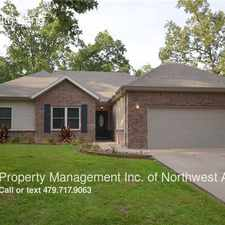 Rental info for 13 Bobwith Lane in the 72714 area