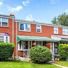 Rental info for Move-in Condition, 3 Bedroom 1 Bath in the Woodbourne Heights area
