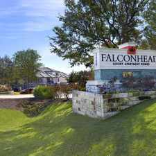 Rental info for Falconhead