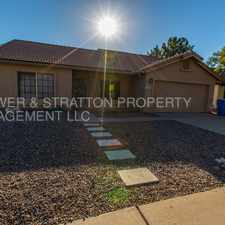 Rental info for 1255 E SAN ANGELO AVE - 3BR 2BA Val Vista/Guadalupe - READY TO MOVE IN HOME! WASHER/DRYER, REFRIGERATOR INCLUDED! CLOSE TO FREEWAY, SHOPPING, AND SCHOOLS! CALL TODAY! in the Val Vista Lakes area