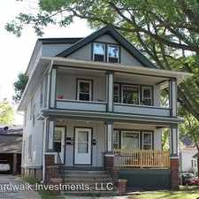 Rental info for 1233/35 Mound Street in the Greenbush area