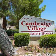 Rental info for Cambridge Village Apartments in the Miracle Manor area