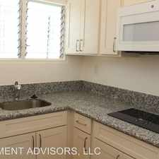 Rental info for 2756 Rooke Ave in the Makiki - Lower Punchbowl - Tantalu area