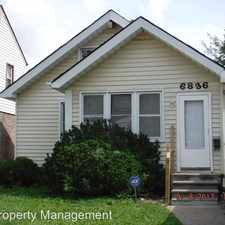 Rental info for 6836 Minock in the Dearborn Heights area