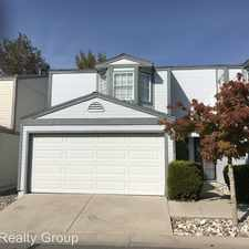 Rental info for 3954 Village Dr in the 89701 area