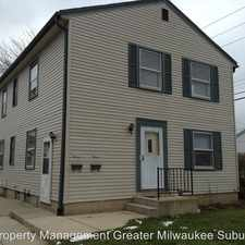 Rental info for 4837-39 W. Lynndale Avenue in the Milwaukee area
