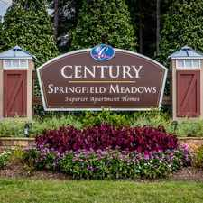 Rental info for Century Springfield Meadows in the Charlotte area