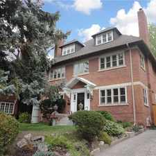 Rental info for 75 Forest Hill Road in the Yonge-St.Clair area