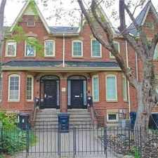 Rental info for 16 Phoebe Street in the Kensington-Chinatown area