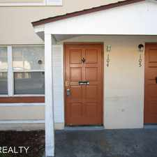 Rental info for 1600 S. Palmetto Ave 104