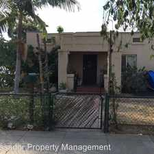 Rental info for 344 E. Truslow in the Anaheim area