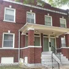 Rental info for 2620 Minnesota 1st Floor - 2nd Floor in the Tower Grove East area