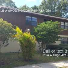 Rental info for 3124 W Sligh Ave in the Tampa area