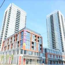 Rental info for Dundas St E & Regent Park Blvd in the Moss Park area
