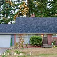 Rental info for 1310 N 165th St in the Shoreline area