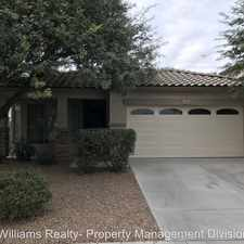 Rental info for 3886 S Marigold Way