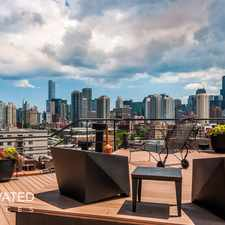 Rental info for W Grand Ave & N Halsted St in the West Town area