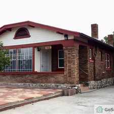 Rental info for Charming Central El Paso Home near Fort Bliss, Texas Tech Medical School and Patriot Freeway in the Austin Terrace area
