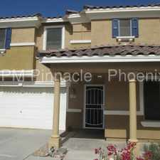 Rental info for Beautiful 4 Bedroom in Buckeye!