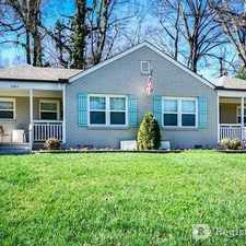 Rental info for Two Bedroom In Charlotte in the Country Club Heights area